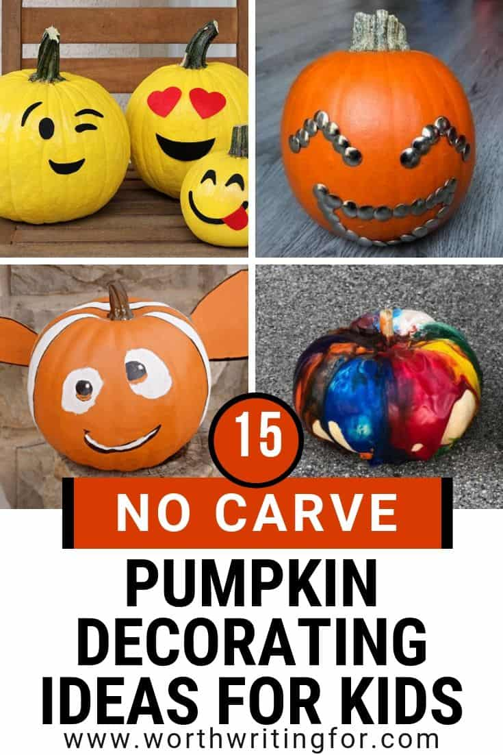 decorating pumpkins without carving