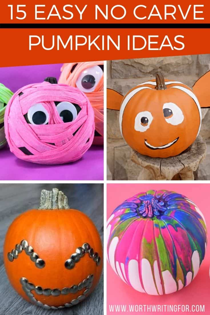 easy ways to decorate pumpkins