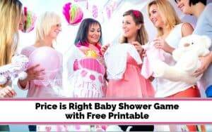 price guessing game for baby showers