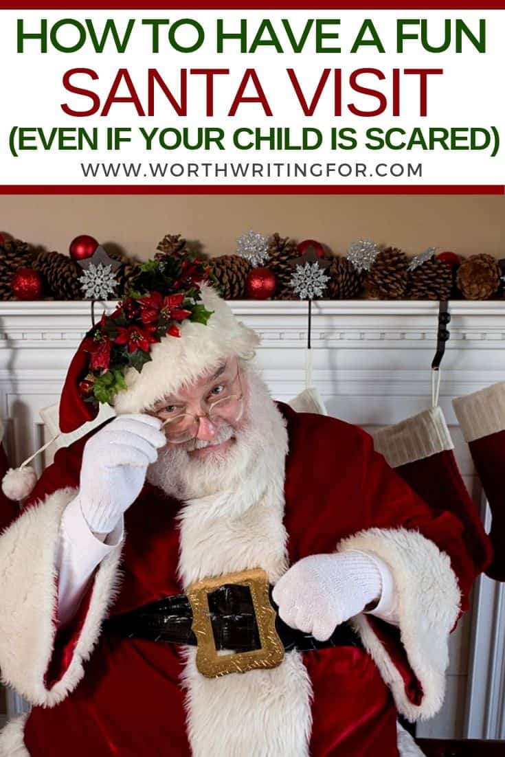 take kid to meet santa