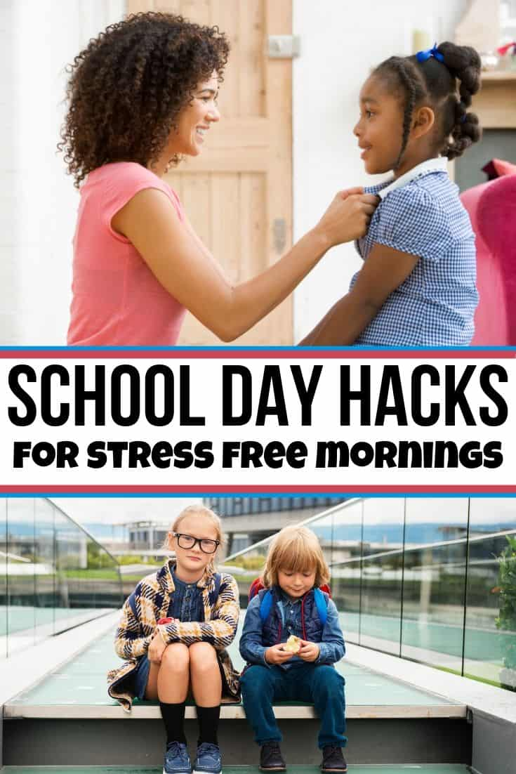 school day hacks for mornings