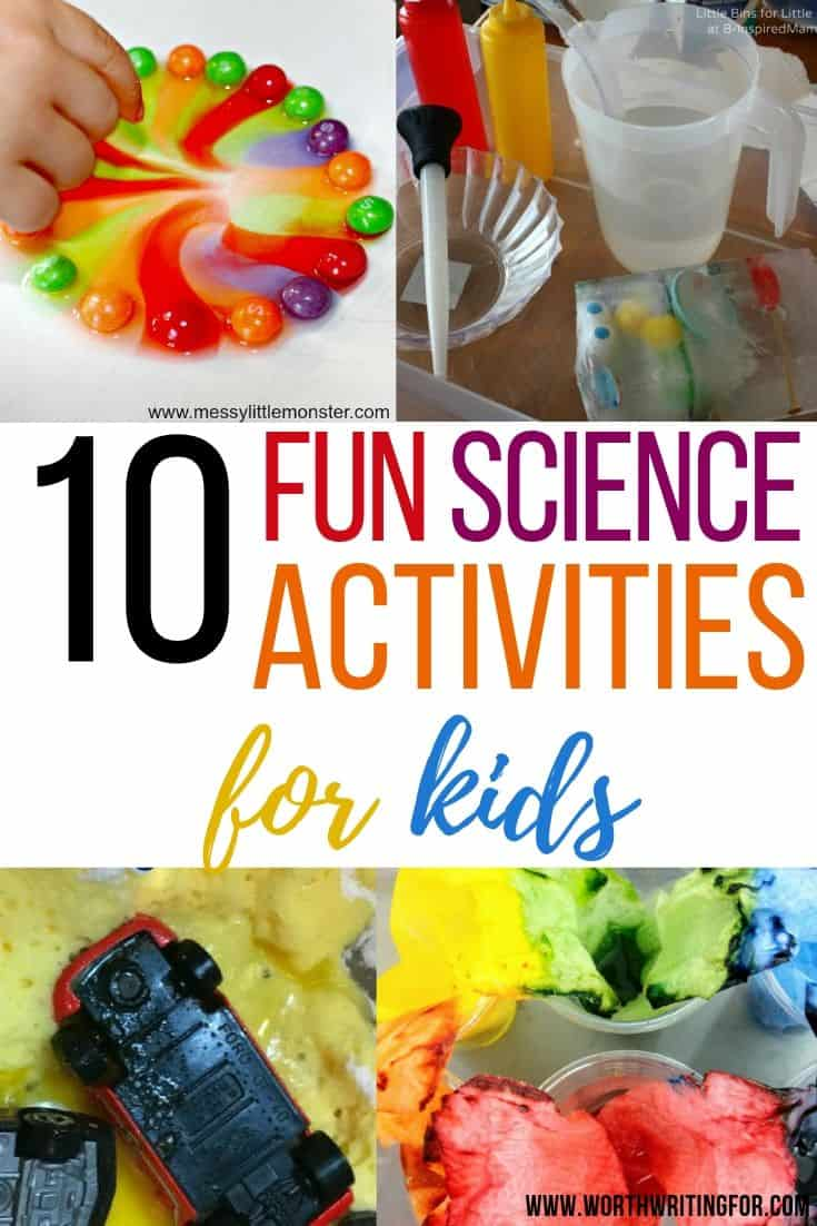 science experiments for kids to do