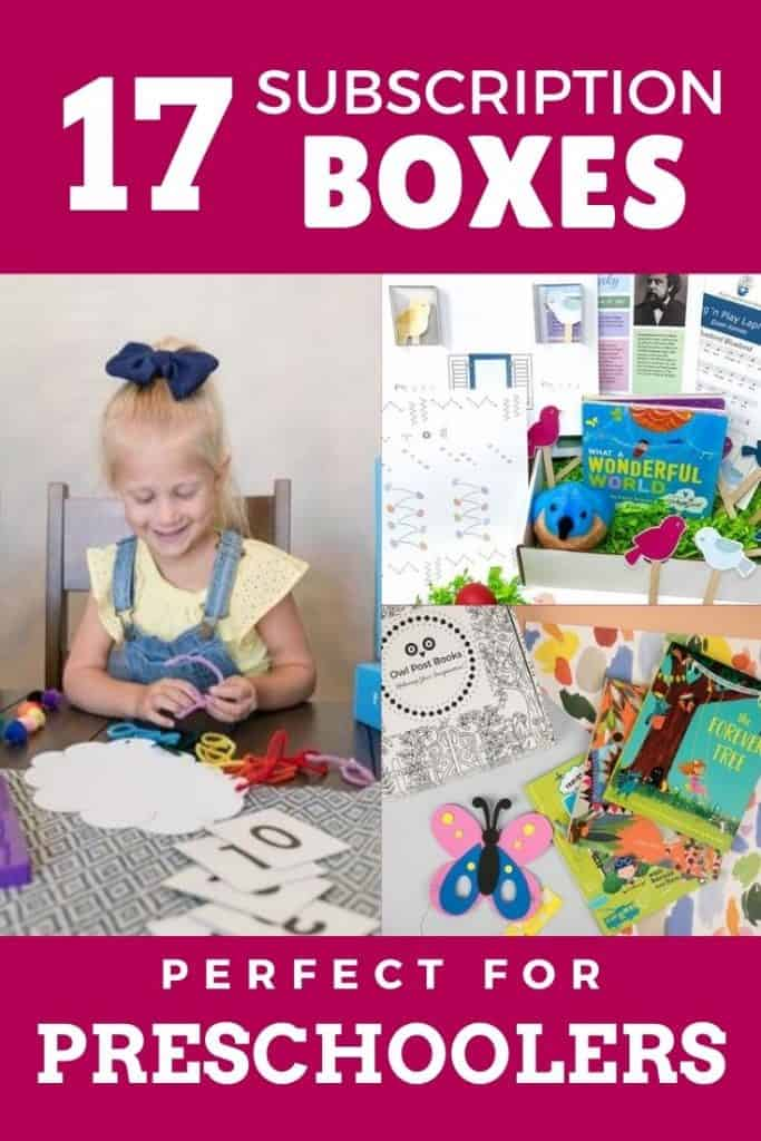 4 year old subscription box