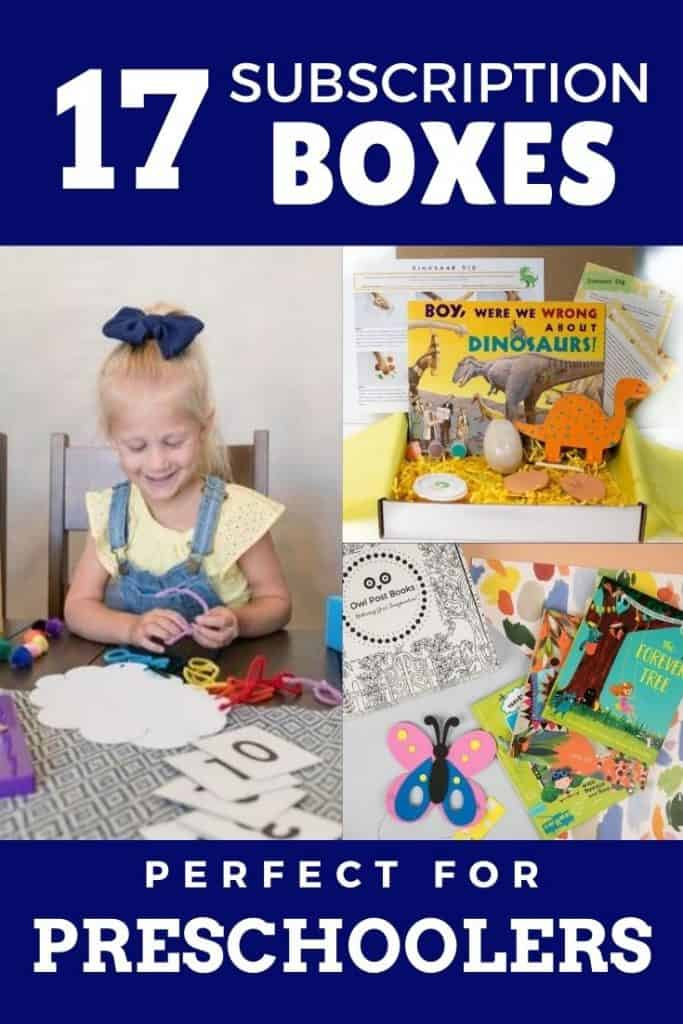 subscription box for four year old