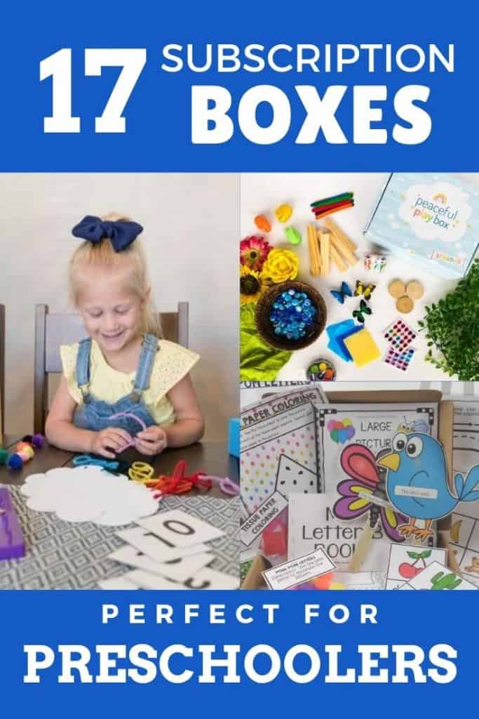 subscription box for five year old