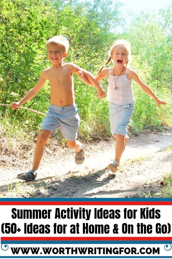 summer activity ideas for kids at home