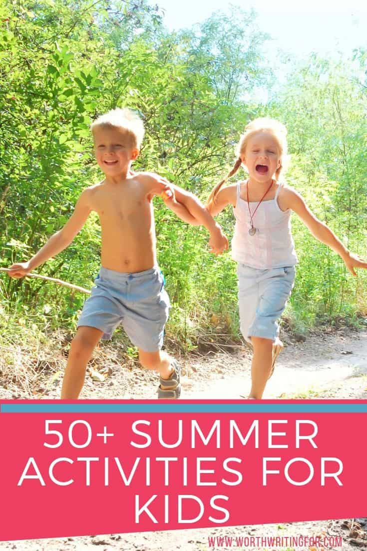 summer activities to do as a family