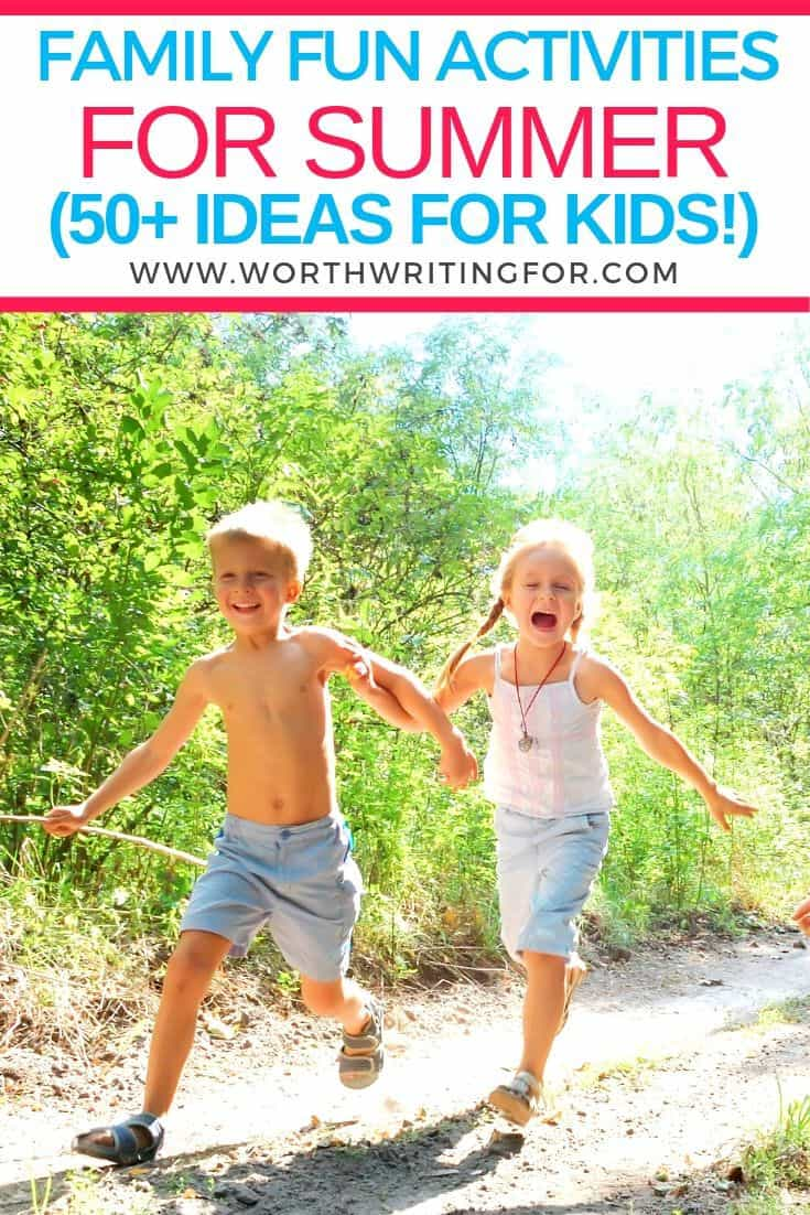 summer activity ideas for moms and kids