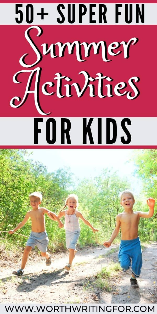 kid activity ideas for summer
