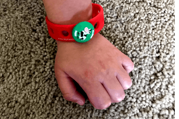 Food Allergy Alert Wristband