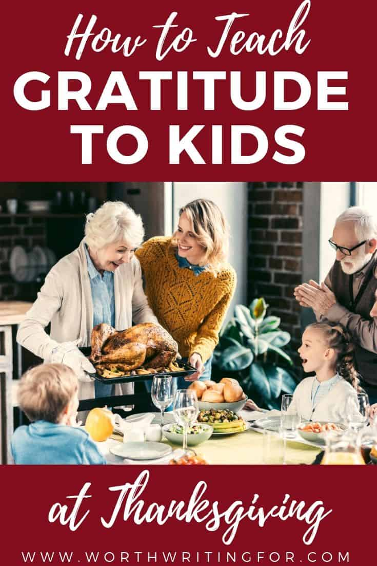 teach gratitude to kids