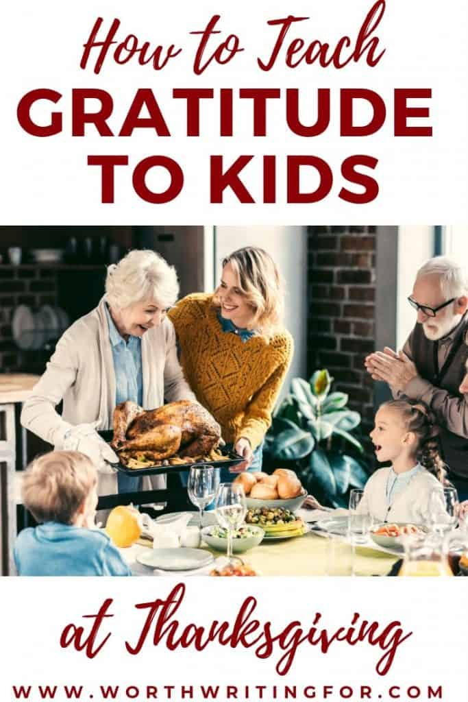 teach kids about thanksgiving