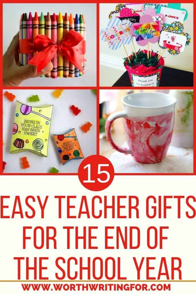teacher appreciation gift ideas for end of the school year