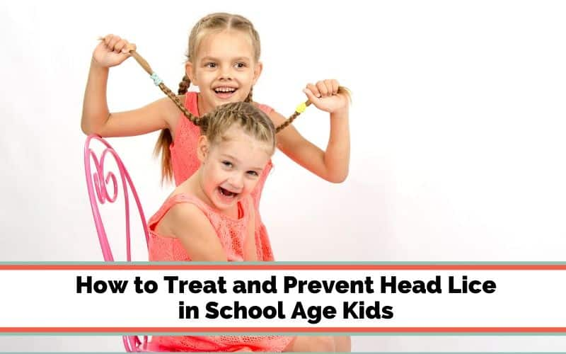 prevent head lice in gradeschooler