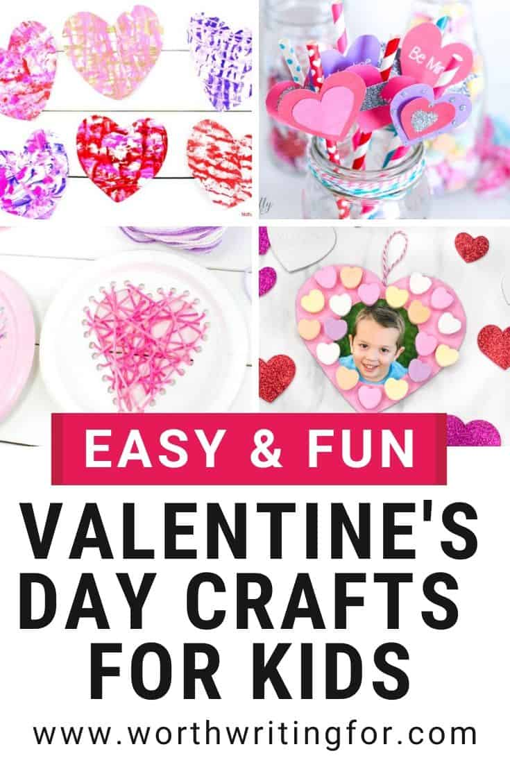kids crafts for valentine's day