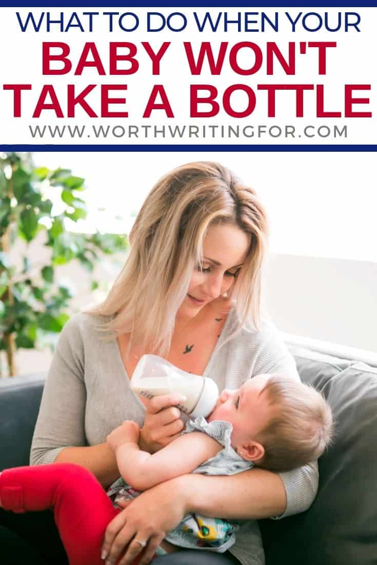 baby won't take bottle