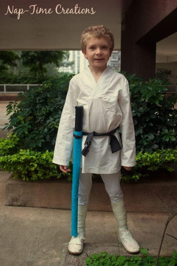 star wars Halloween costume homemade