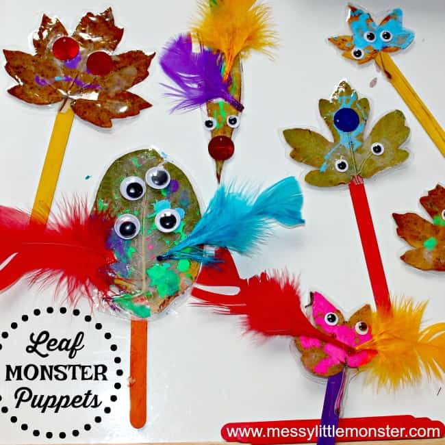 children's leaf craft for preschoolers