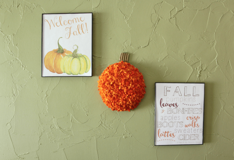 fall pumpkin craft for kids