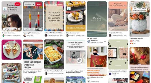 Pinterest SEO - Pinterest als Suchmaschine, Pinterest virtuelle Assistenz
