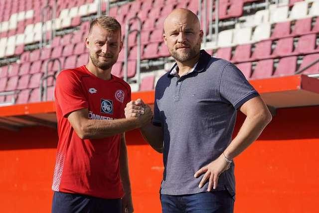 Ein Pfund auf dem Platz und daneben: Daniel Brosinski verlängert seinen Vertrag bei Mainz 05 vorzeitig. (Foto: 1. FSV Mainz 05)