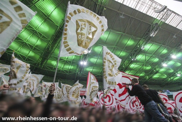 Die Fans des FSV haderten in Spielen gegen Gladbach zuletzt häufiger mit dem VAR. (Foto: Rheinhessen on Tour)