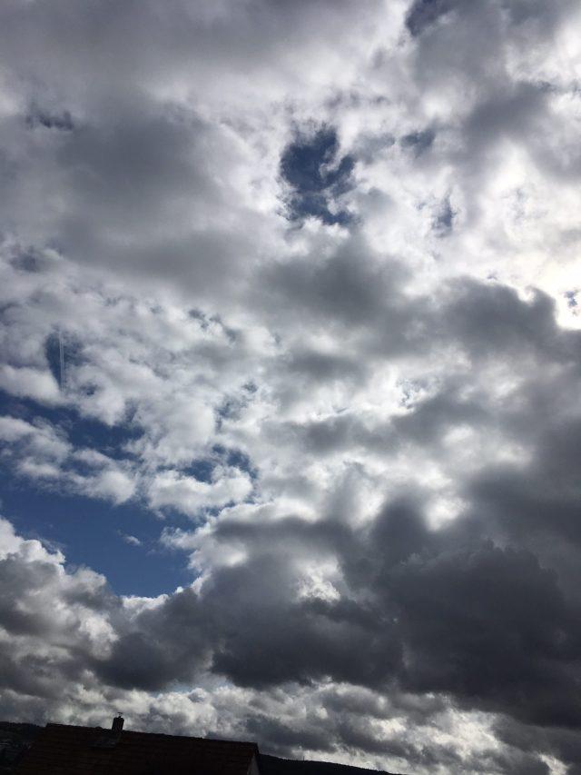 Himmel über der alten Heimat. (WP)