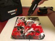 Kim Toscano Reviews the MAKERX Mini Heat Gun
