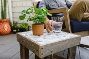 This DIY Tile Table Is Perfect For Your Patio!
