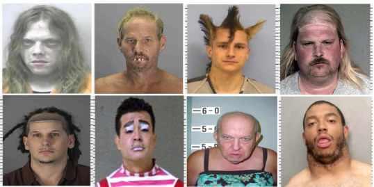 Americas Freakiest Mugshots wave 1