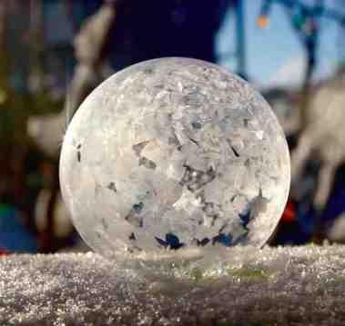 Freezing Bubbles Chris Ratzlaff