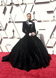 billy porter wears gown at the oscars dress