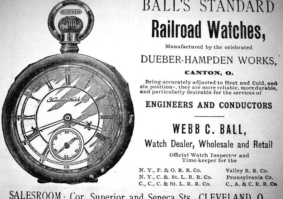 1890 Ball Watch Ad