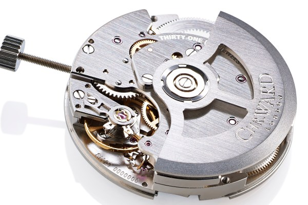 Calibre SH21, the first in-house movement from Christopher Ward