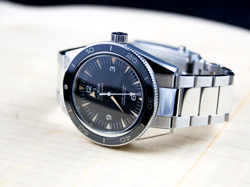 54b60eebc13 In the Flesh  Omega Seamaster 300 Master Co-Axial - Wound For ...