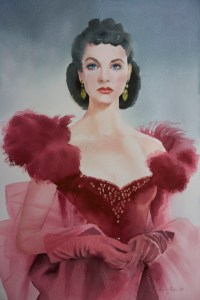 Vivien Leigh as Scarlet