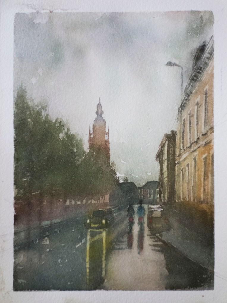 Rainy day in Breda.