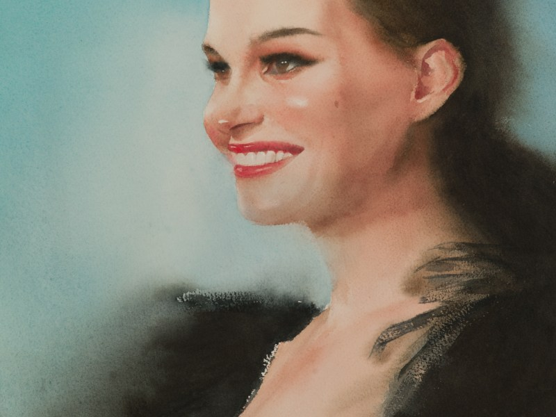 Natalie Portman portrait study 2