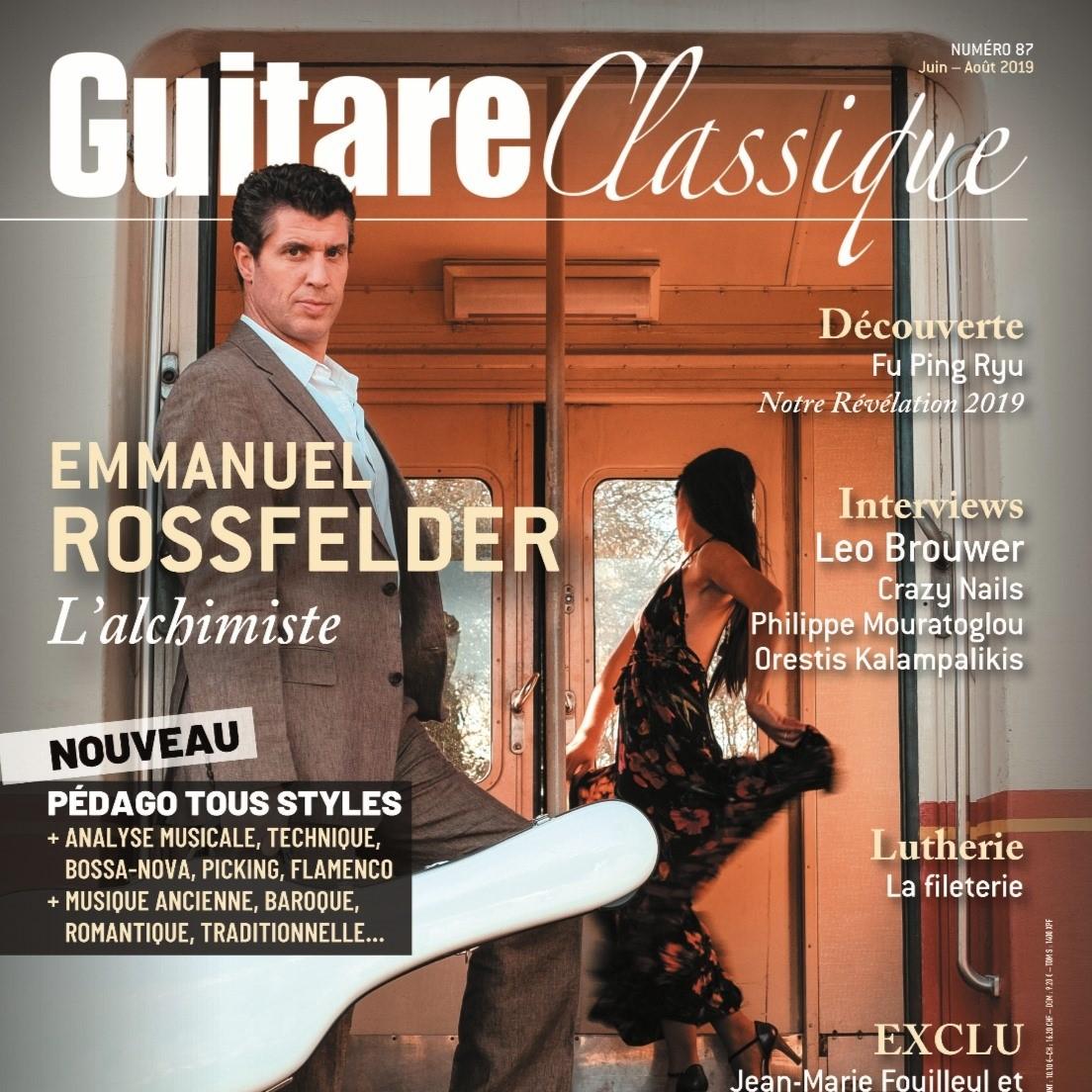 Review Guitare Classique Magazine