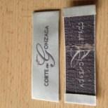Satin Woven Labels for Designer Clothing