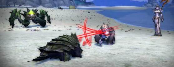 Mop combat des mascottes