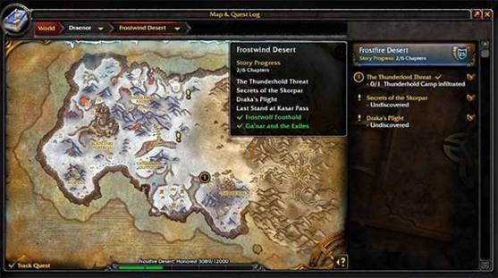 warlords-of-draenor-quetes