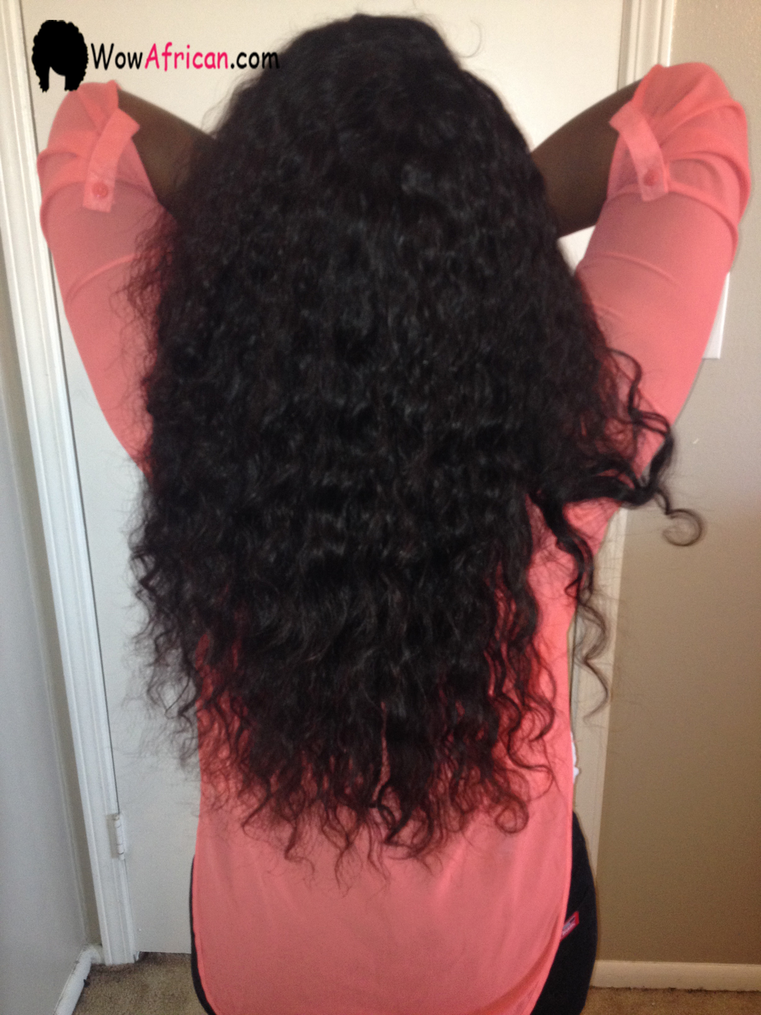 Natural Color Milan Curl Brazilian Virgin Hair Weave 2pcs