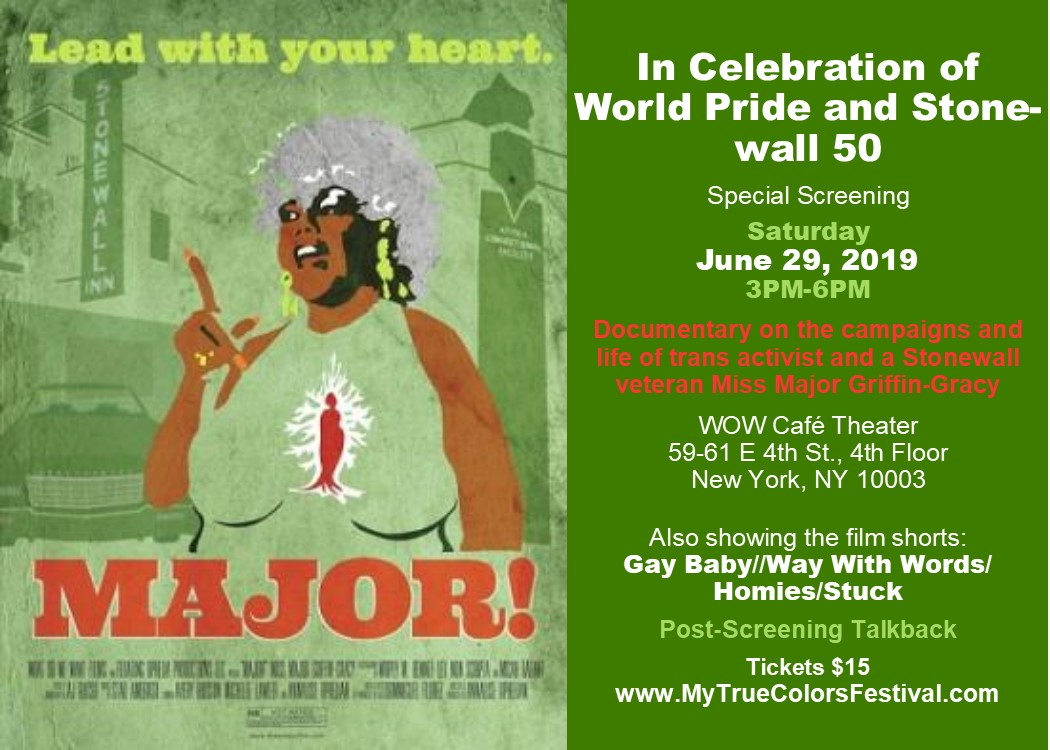 My True Colors Festival Feature Film Major Shorts A Wow