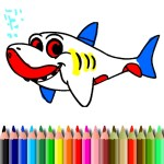 BTS Shark Coloring Book