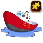 Cartoon Ship Puzzle