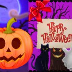 Happy Halloween Princess Card Designer