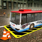 Vegas City Highway Bus Parking Simulator