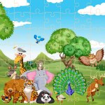 Wild Animals Jigsaw