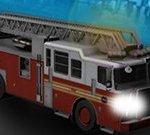 Fire Truck City Driving Sim